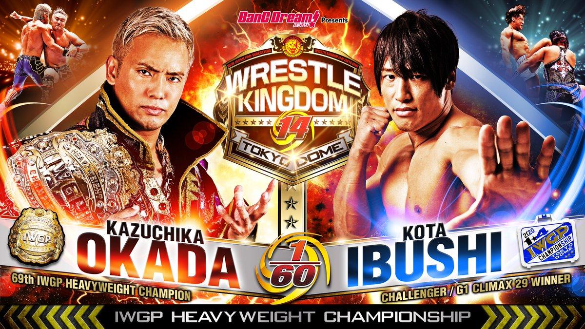 NJPW Wrestle Kingdom 14 (Night 1) Results