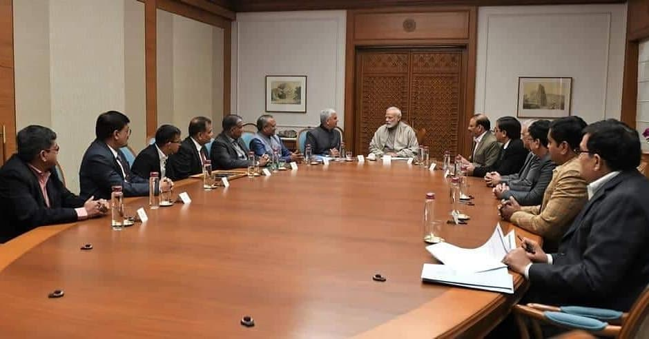 SGCCI delegation meets PM Modi in New Delhi, discuss the issues pertaining to industries