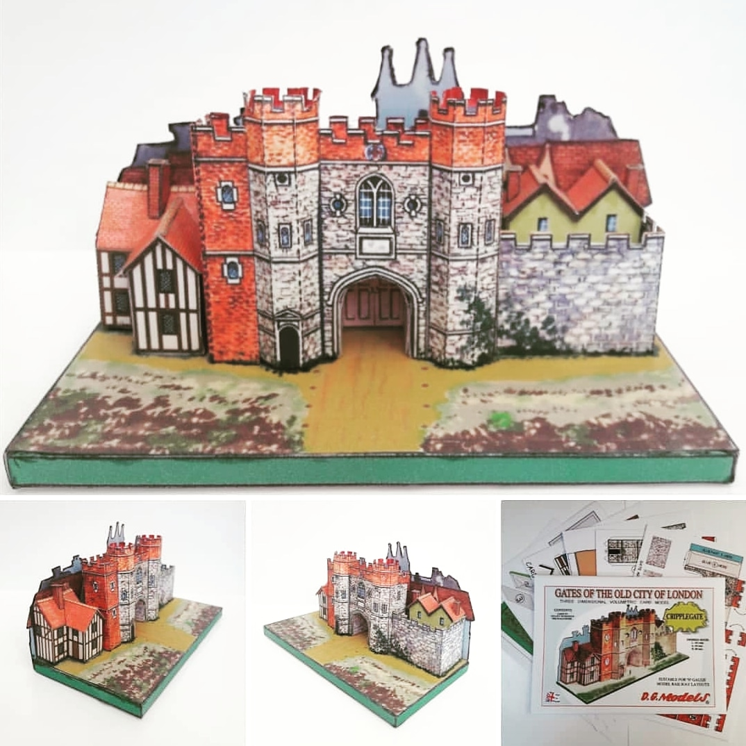 Full colour A5 #cardmodel kit of #Cripplegate . #Ngauge / 2mm . http://www.budgiemodels.com/famoushistoricbuildings… . http://stores.ebay.co.uk/autocraftmodels . #londongates #oldlondon #EC3 #barbican #barbicancentre #barbicanestate #historiclondon #modelrailway #ngaugerailway #trainlayout #layoutscenery #schoolprojectpic.twitter.com/4bUBNyXDRl