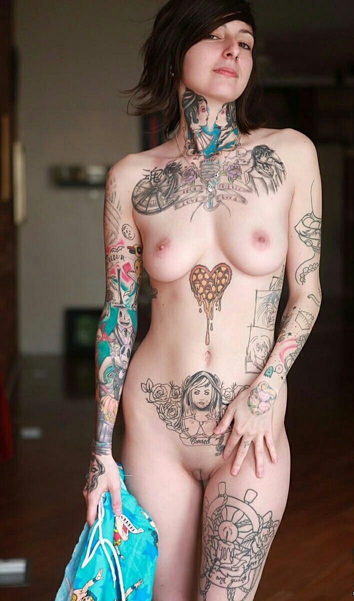 Tattooed mature pics