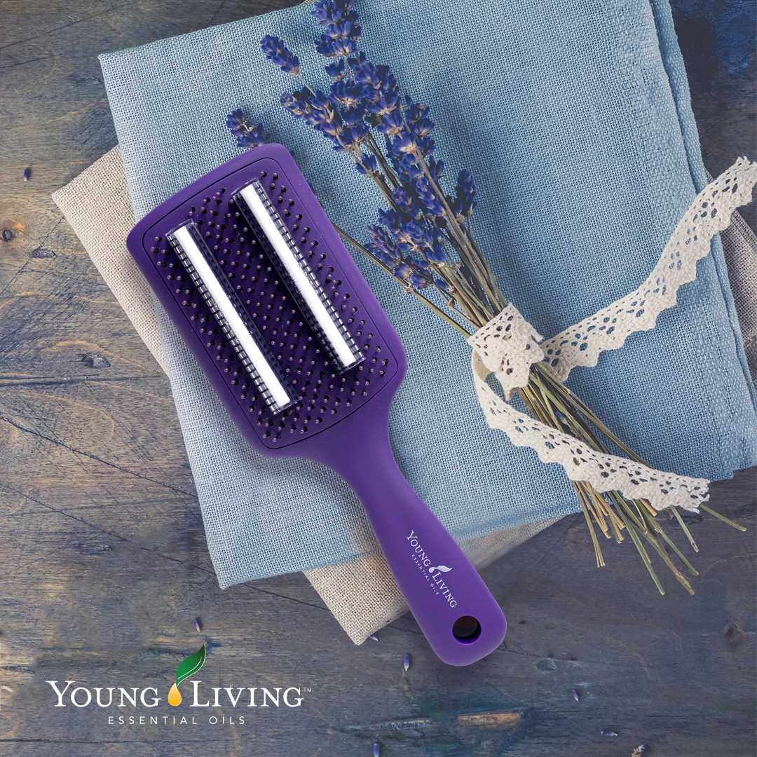 Young Living Essential Oils Europe On Twitter Be Party Ready Our Oil Infused Hairbrush Allows You To Drop Our Beautiful Essential Oils Onto Two Strips For Silky Soft Locks You Ll