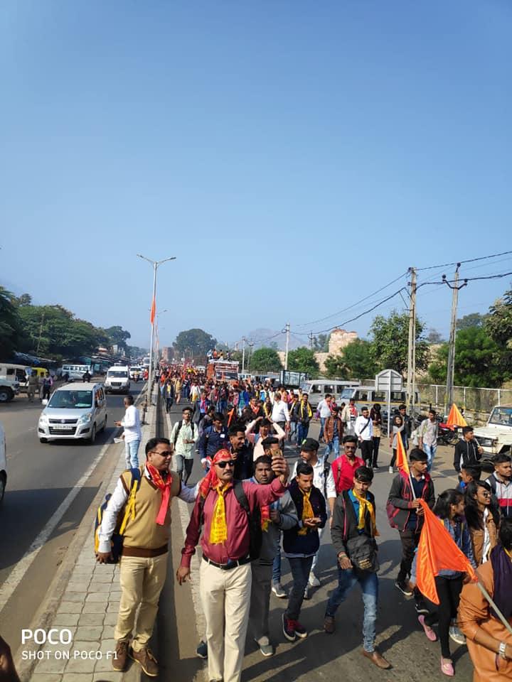 Thousands join Pavagadh Parikrama
