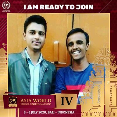 "I am Prashant Raghav and I'm proud to be a part of Asia World MUN IV in Bali, 3-6 July 2020.  "" #AsiaWorldModelUnitedNations #AsiaWorldMUN #AWMUN #AWMUNIII #BeaPartofWorldsChanges #YoungGeneration #ModelUnitedNations #MUN #BiggestMUNinAsia #InternationalEvent https://t.co/mjsvRnfNxO"