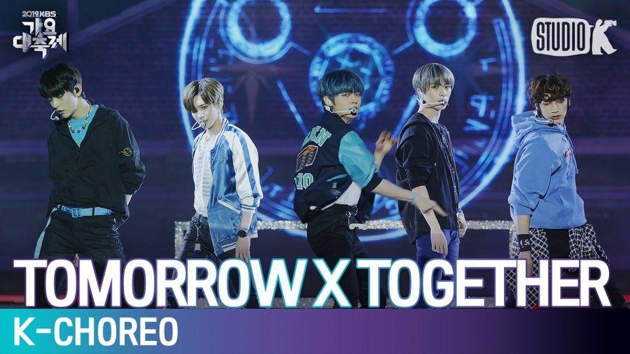 TXT Cover Lagu Reply Milik Shinee dengan Sempurna di KBS Song Festival 2019