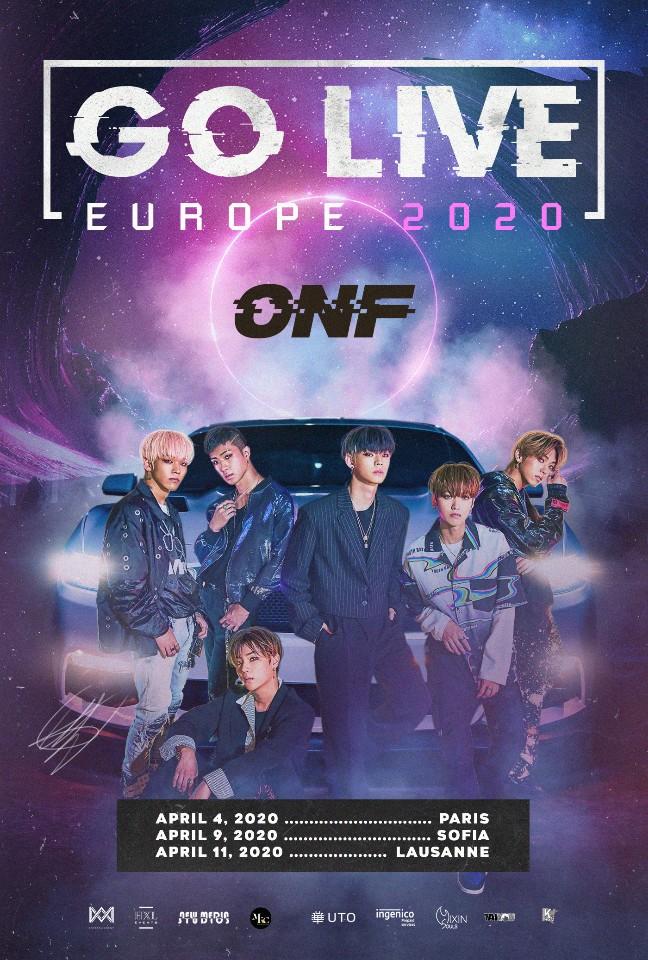 ONF Europe Tour Go 2020