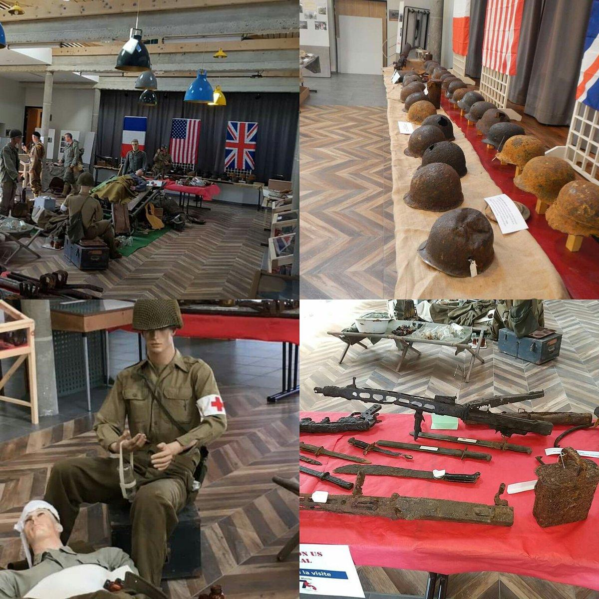 "75° Anniversario dello ""Sbarco in Normandia""Exposition US Medical- Le Manche #ww2museum #DDay #ww2 #WWII #losbarcoinnormandia #dday #75anniversarydday #aprilia1944 #wwii #operationoverlord #landingofnormandy #thefactory1944 #ww2usmedicalpic.twitter.com/sJNDqne4LH"