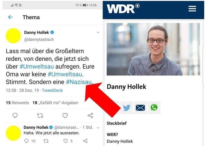 Danny Hollek Twitter