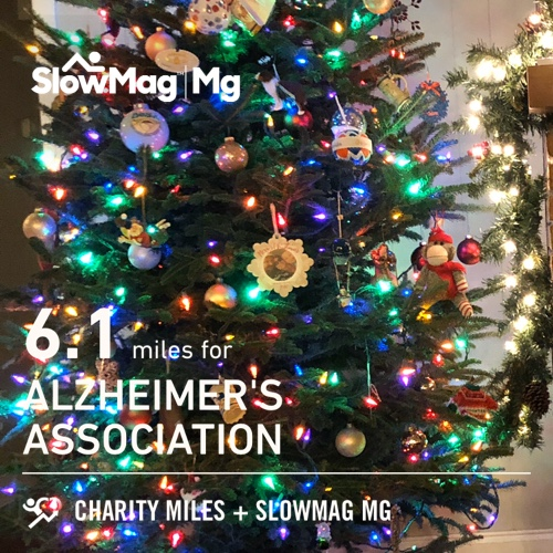 Haile with Team FTC! 6.1 @CharityMiles for @alzassociation. Thx #SlowMag for sponsoring me.