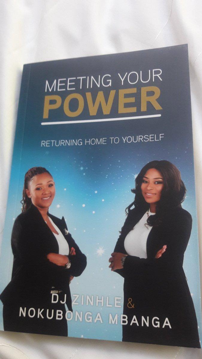 Just got my hands on my faves @DJZinhle. Can't wait to devour this read #meetingyourpower #zeenation https://t.co/WJmNVDkwvj