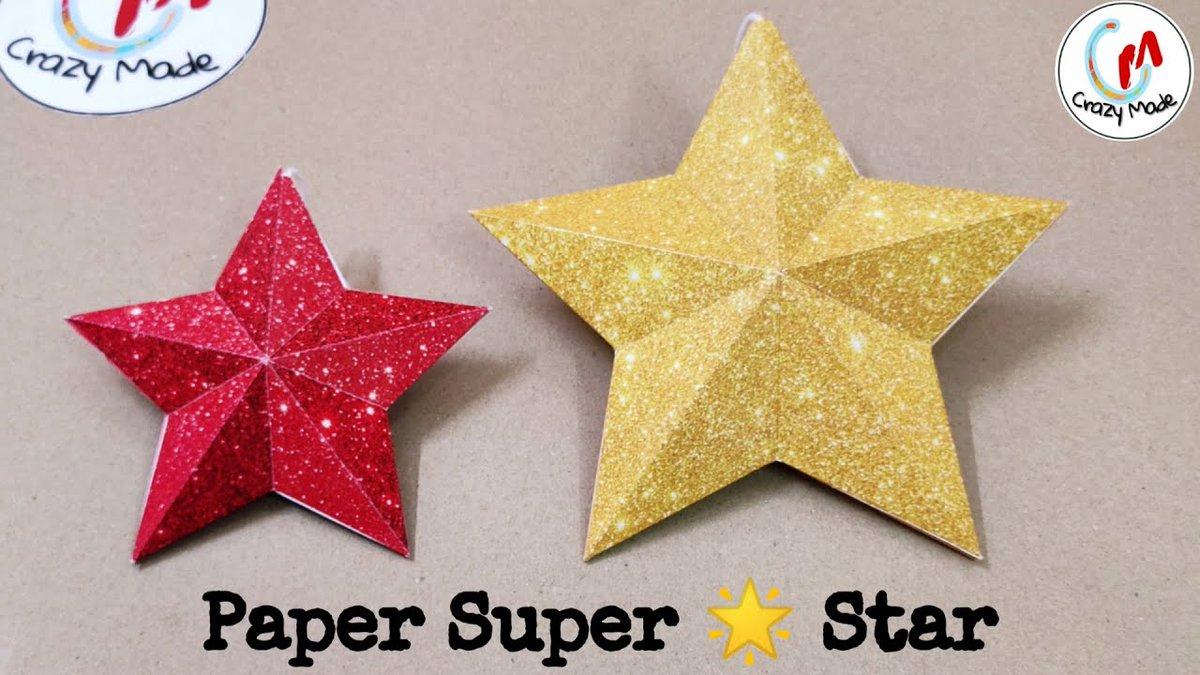 DIY paper super star  https://youtu.be/vPU7wSrQoPk Support us  #SmallStreamersConnect #Superstar #NewYear2020 #SupportSmallStreamers  #Streamers #papercrafts #DIY #Twitchstream #TwitchFam  #smallyoutuber  #SmallStreamerCommunity #gamingconsole  #3Dmodel  #artshare @DynoRTs @FluidRTpic.twitter.com/AVtkyr6Ykv