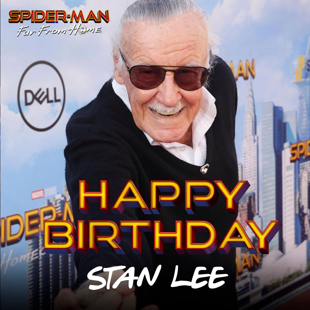 On his birthday, join us in remembering a real hero, @TheRealStanLee. Thank you for everything. Excelsior!