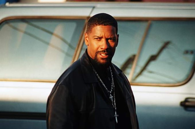 "Happy Birthday to my favourite actor the great Denzel Washington. ""What a day!!\"""