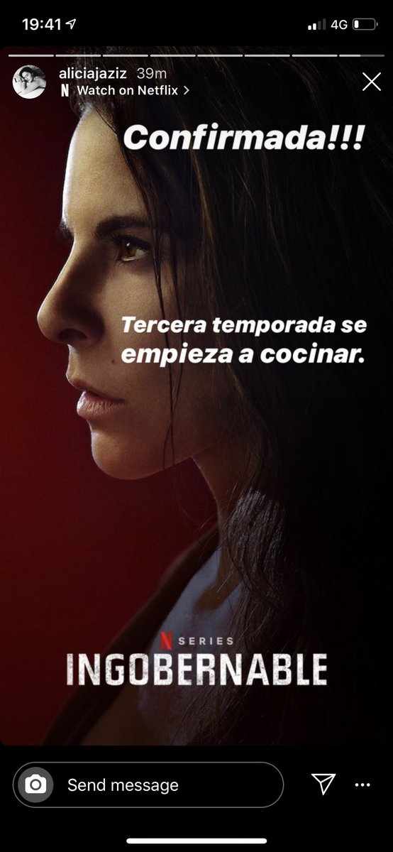 Kate Del Castillo Francia La Reina Del Sur 3 On Twitter Ingobernable Season 3 Was Still Announced On Netflix This Morning At 10 51am They Deleted It Just Now Ingobernable Ingobernable3 Netflix