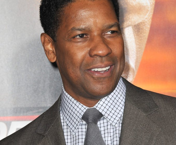 Happy 65th birthday Denzel Washington.