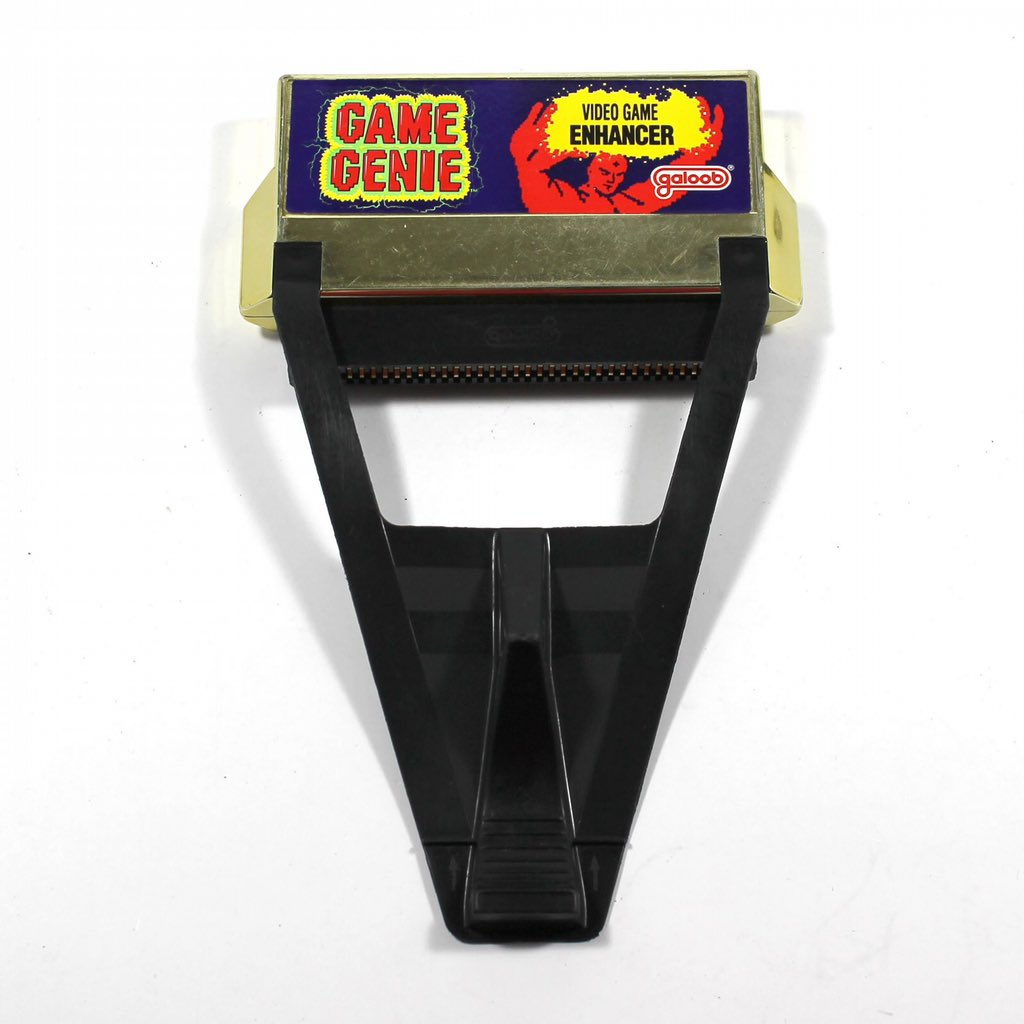 Robert Bowling On Twitter I Used A Game Genie To Get Through