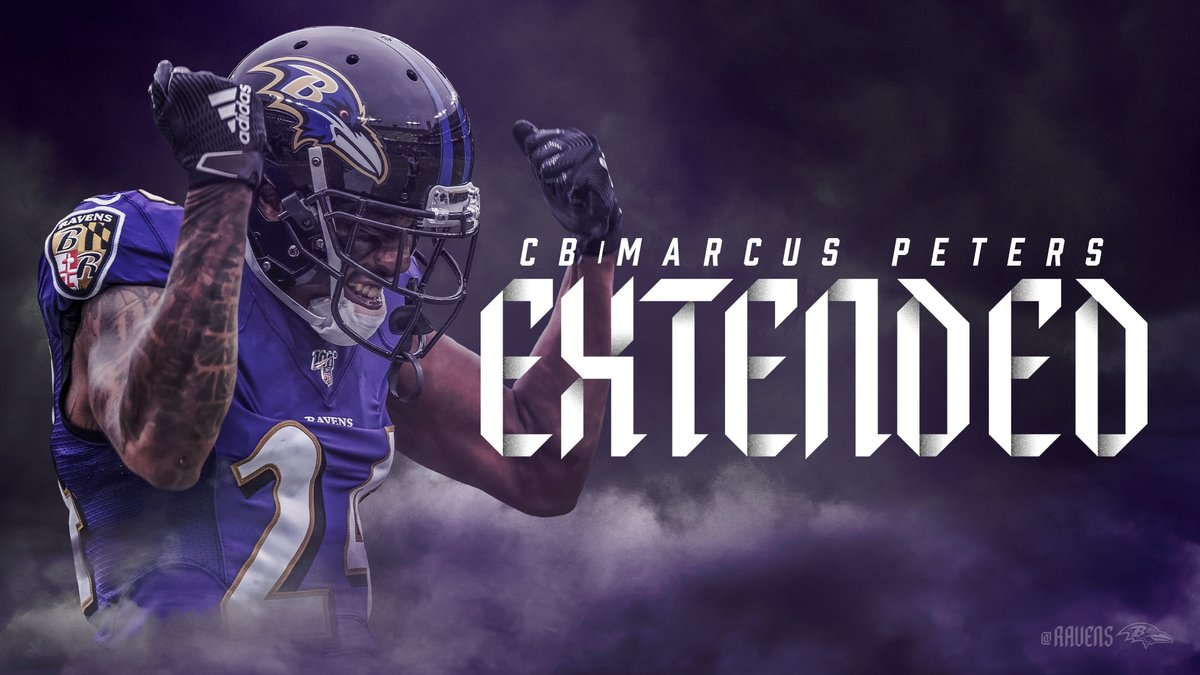 We're excited to announce that we have extended the contract of CB @marcuspeters ‼️