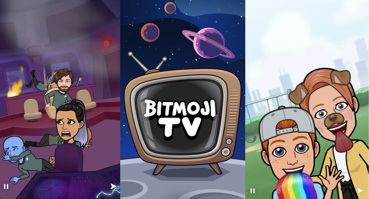 Snapchat will launch Bitmoji TV, a personalized cartoon show by @joshconstine