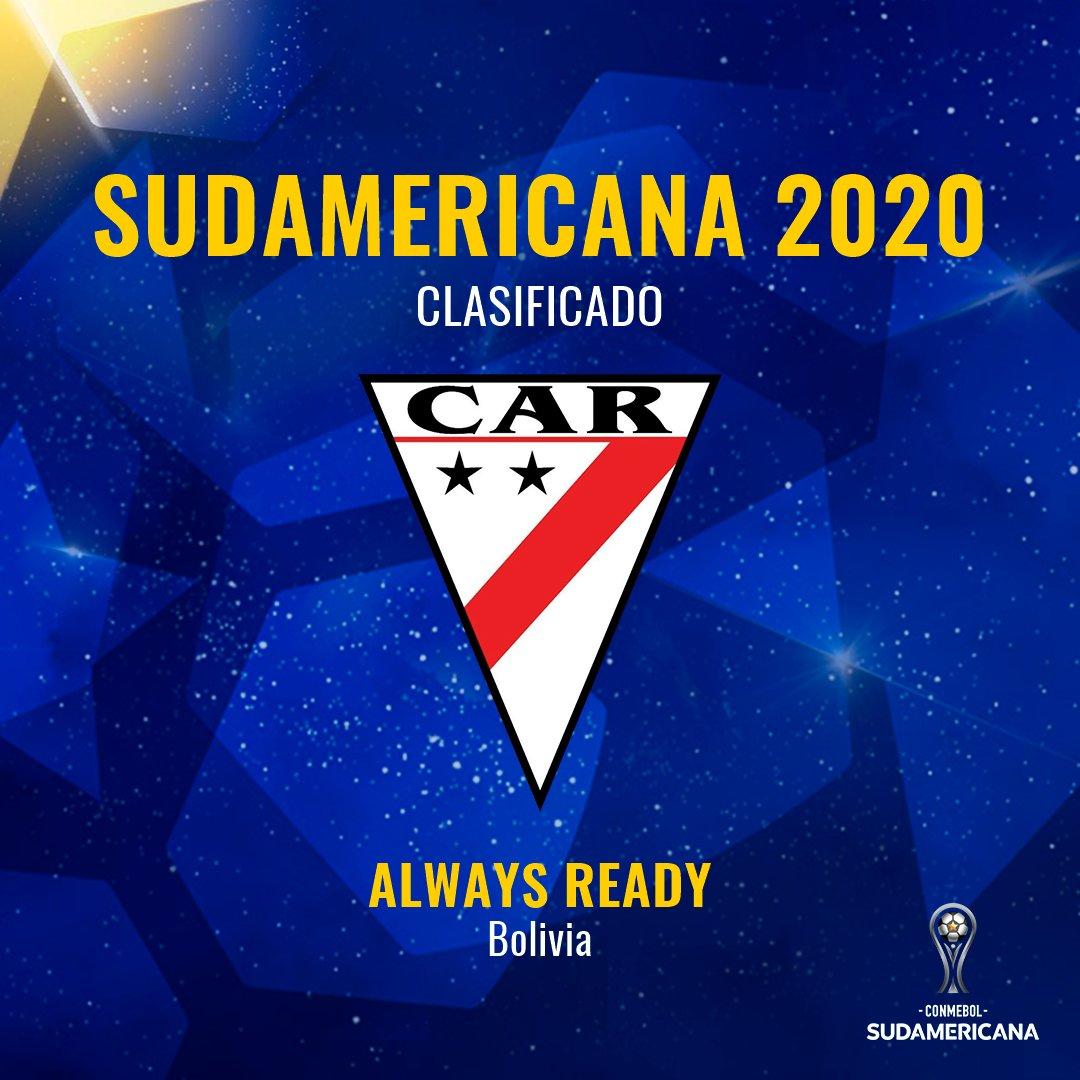 🇧🇴🔥 ¡Lugar asegurado en la #Sudamericana!  🎉 Visitará a @MillosFCoficial y luego lo recibirá en su estadio: #AlwaysReady estará en el torneo en 2⃣0⃣2⃣0⃣.  📅El 6 de febrero jugarán en Colombia y el 20 en Bolivia.