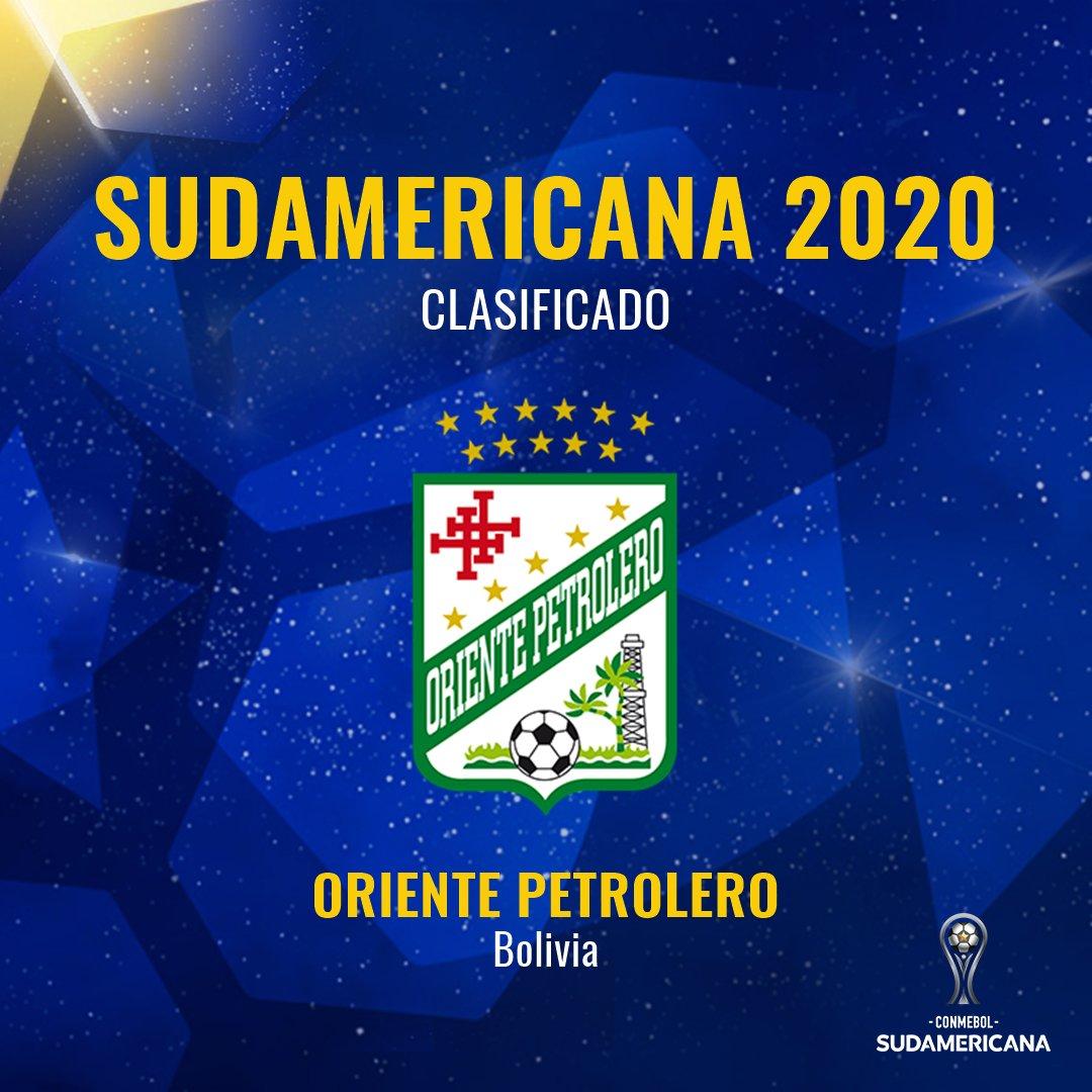 🇧🇴🔥 El último clasificado por Bolivia a la #Sudamericana: @Oriente_SC.  👉 Se enfrentará a @VascodaGama en la Copa.  📅 Jugará primero en Brasil y definirá la serie en Bolivia, el 5 y 19 de febrero.