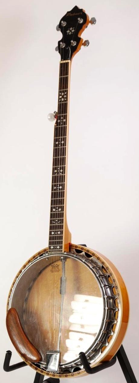 palmer 5 string korean bluegrass banjo at ukulele corner