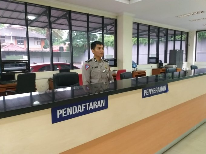 Pelayanan Gerai Samsat Kota Bekasi dlm kegiatan #HBKB (Hari Bebas Kendaraan Bermotor) di Jl Ahmad Yani Bekasi, hari Minggu 29 Desember 2019 mulai jam 06.00 s/d 09.00 WIB siap melayani masyarakat.