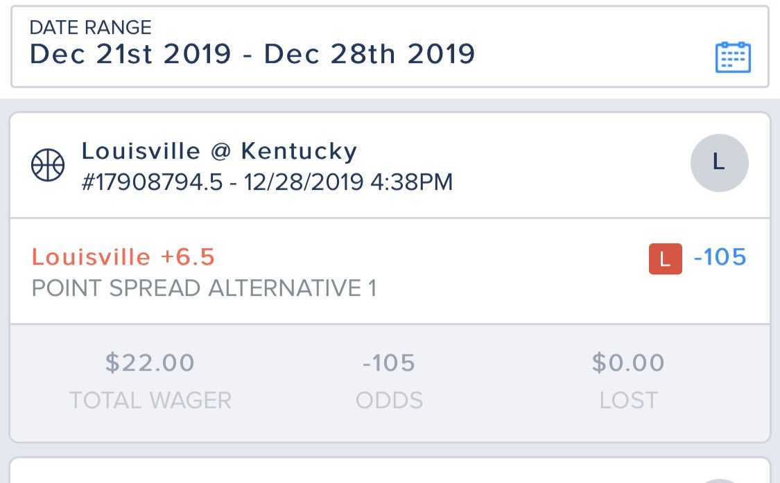 #superbadbeatsmonday @PardonMyTake @CashApp took Louisville at halftime +6.5. Was tied with 27 seconds left in overtime and Kentucky hit 6 foul shots and a last second dunk after two inbound turnovers in final 10 seconds. Kentucky by 8. Cashtag creis1989 https://t.co/kvHPFxEJJ5