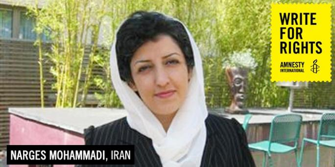 ⚠️⚠️⚠️⚠️⚠️⚠️ Her life is in danger! Please be the voice of our hero! #FreeNarges #NargesMohammadi #WomensRightsAreHumanRights #Standup4HumanRights #HumanRights @UN_Women @mbachelet @AgnesCallamard @sarahleah1 @JavaidRehman #Iran #Khamenei #IRGC #EvinPrison