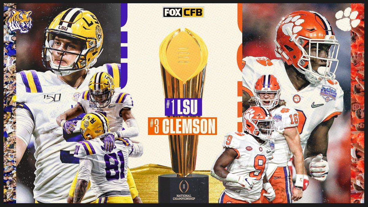 Who Won Lsu Or Clemson >> Fox College Football On Twitter Lsu Clemson Get Your