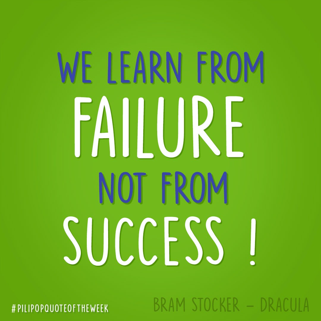 #QuoteOfTheWeek 🌶 Failure teaches us how to appreciate success 💪  #Stocker #Dracula #Failure #Success #Quote #PiliPop https://t.co/v2ZHbyphn3