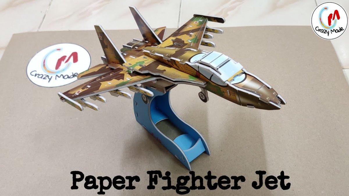 DIY Fighter Jet J15 https://youtu.be/0utRadB4n3Q Support us  #SmallStreamersConnect #fighterjet #NewYear2020 #SupportSmallStreamers  #Streamers #papercrafts #DIY #Twitchstream #TwitchFam  #smallyoutuber  #SmallStreamerCommunity #gamingconsole  #3Dmodel  #artshare @DynoRTs @FluidRTpic.twitter.com/7GnVME7DGe