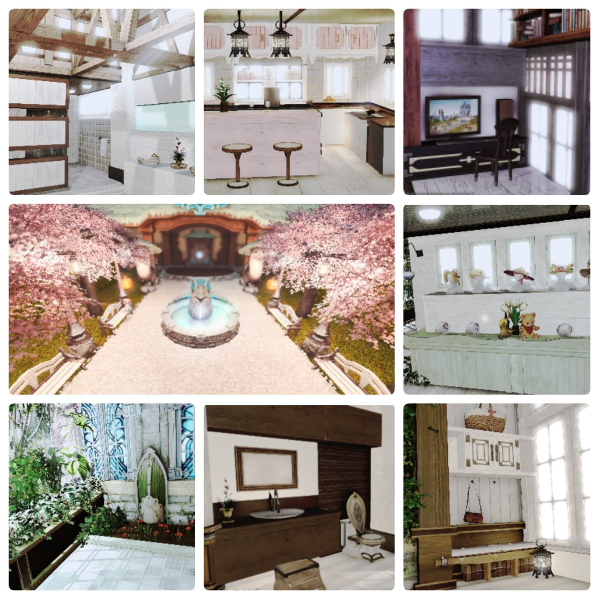 Rhapsody On Twitter I Never Would Ve Thought I D Find A New Creative Hobby In An Mmo But Ffxiv Housing Has Provided An Outlet For Defining And Refining My Interior Design Style I Ve