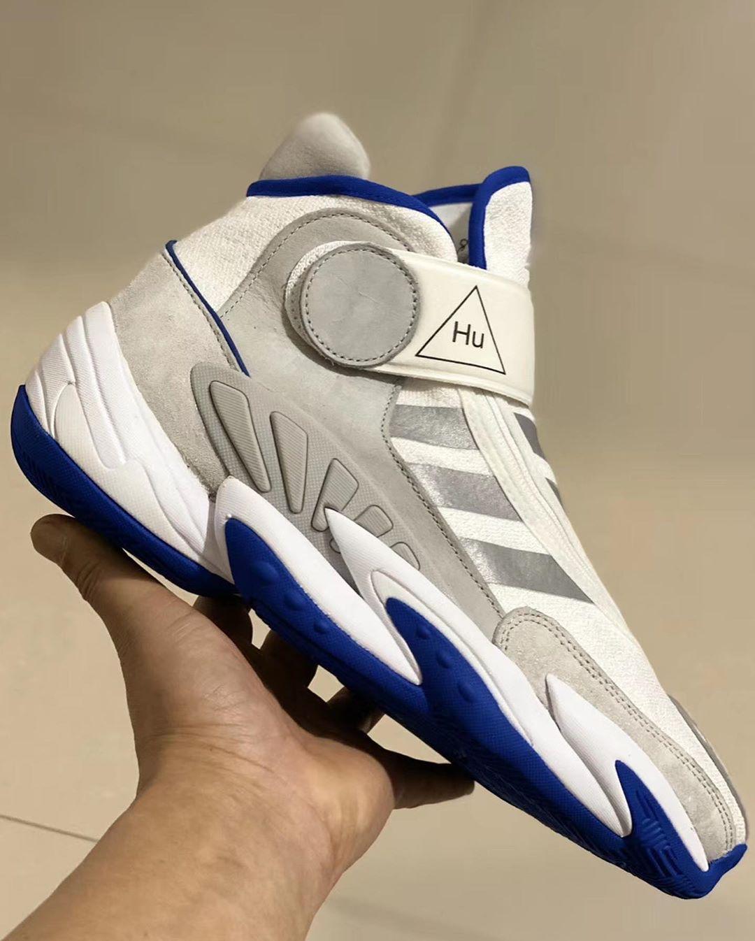 Pharrell Williams x adidas Crazy BYW 2.0 phối màu mới
