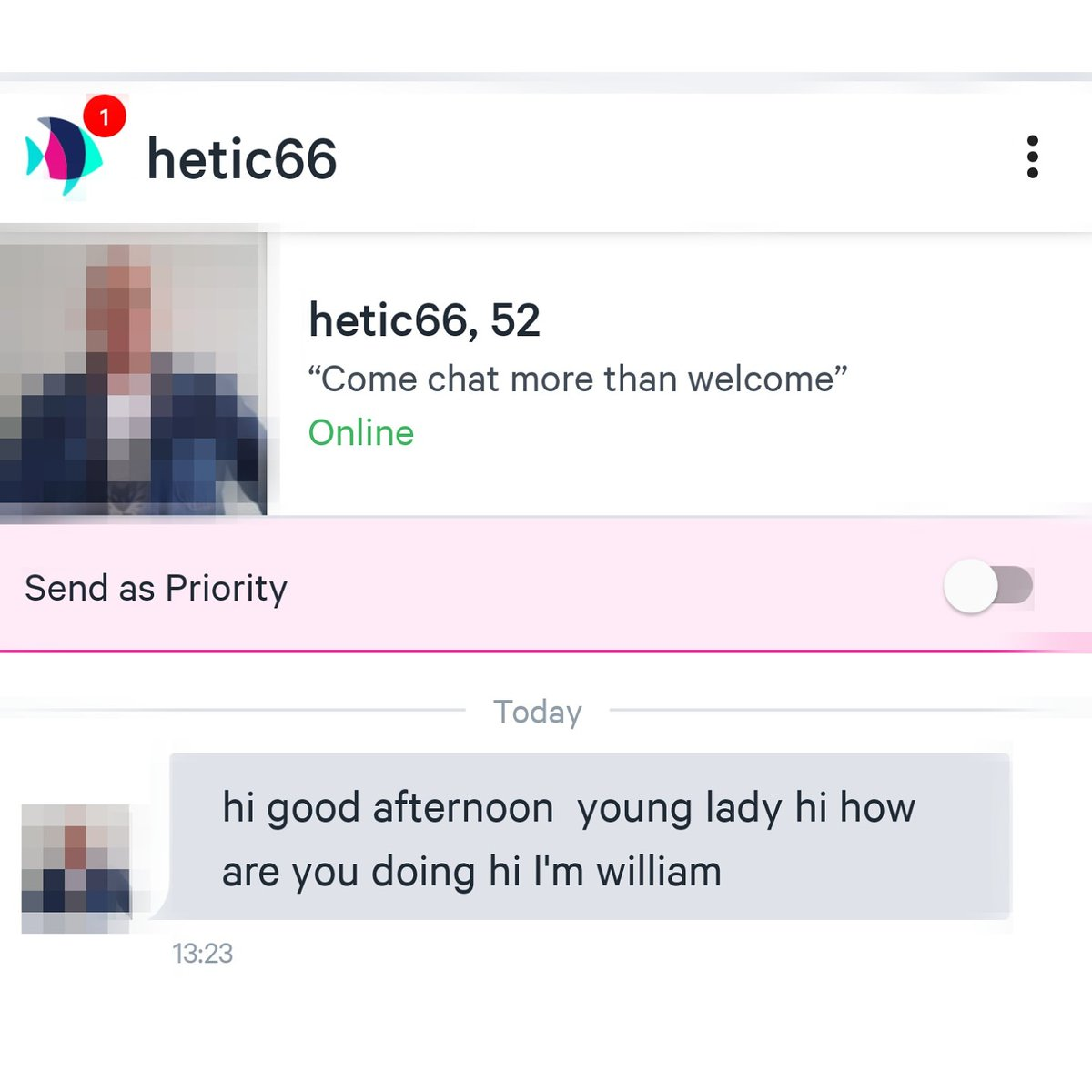 Intro line pre online dating