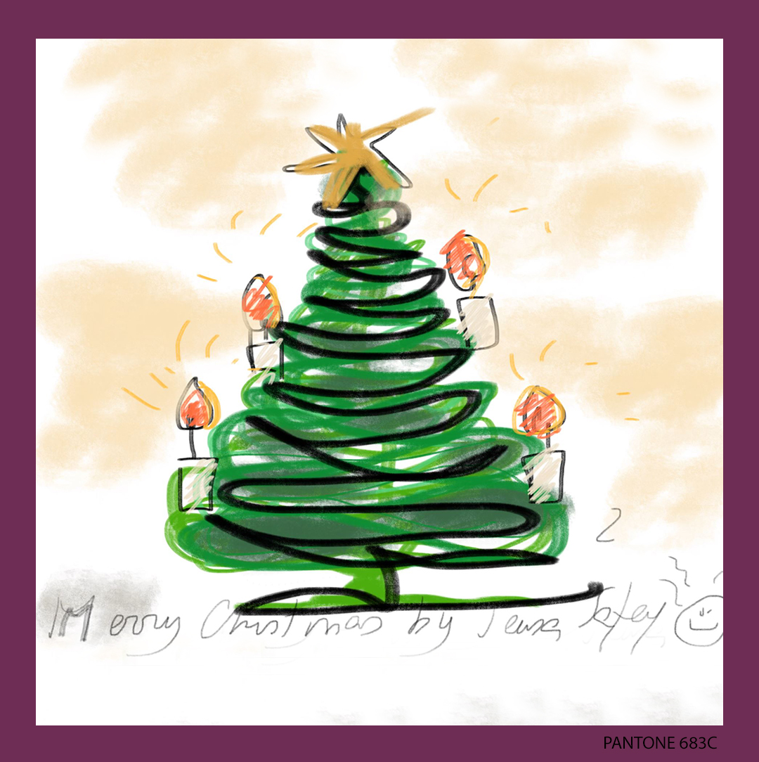 Love to draw my personal Christmas card   #designdecorchristmas #christmas #holidayideas #holiday #coolstuff https://t.co/gr1fFuhHVh