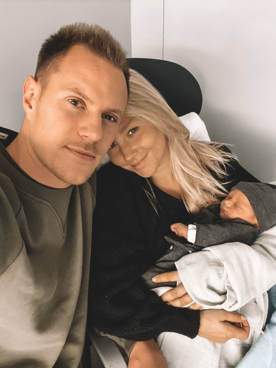 An unforgettable day in our lives. Welcome to the world and to our family, Ben ter Stegen. We love you. ❤️ 28.12.19