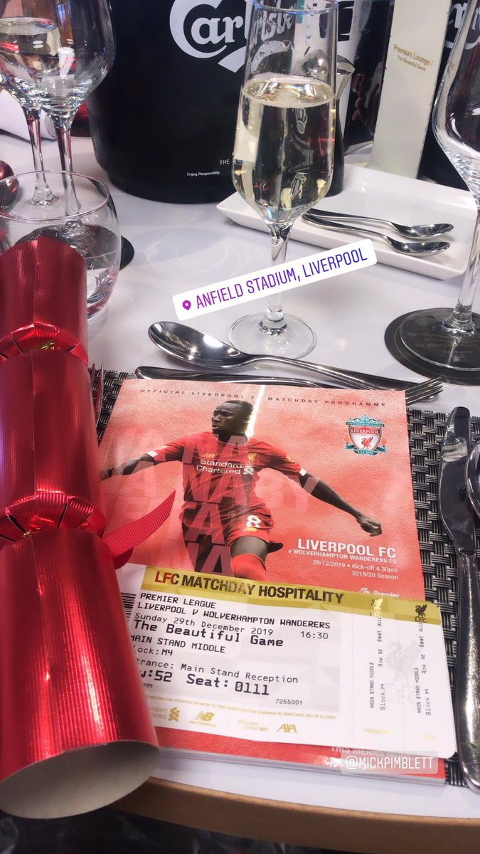 I am so happy!!!!!!!! Get to watch my boys play! Come on!! @LFC https://t.co/5djURDxtYt