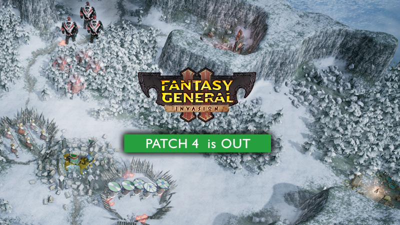El parche 4 de Fantasy General II