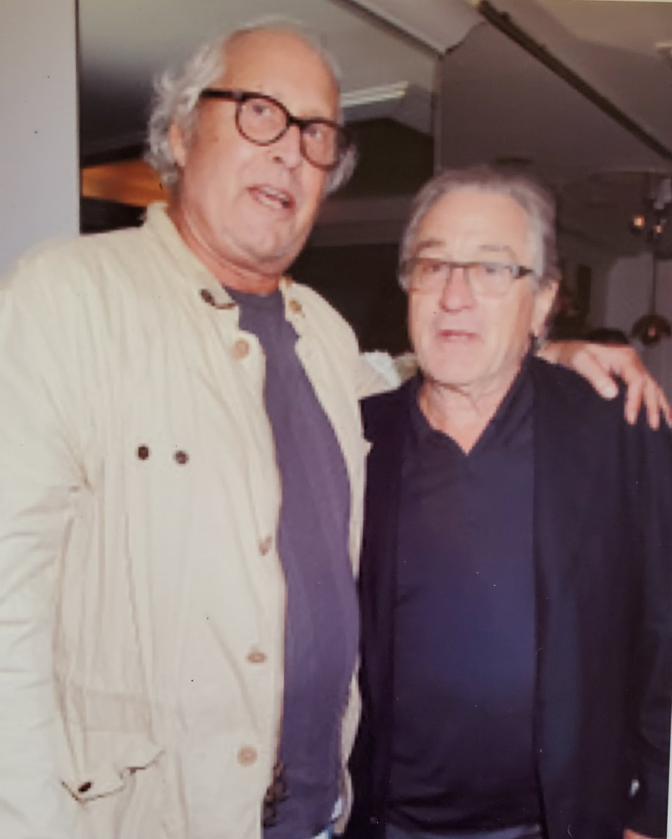 With Bob DeNiro earlier this year