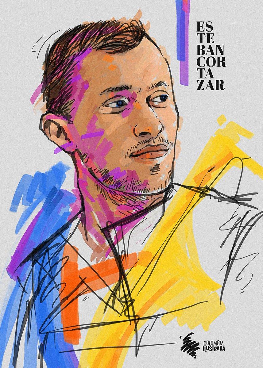 He aquí el #homenajeilustrado a Esteban Cortázar. Este diseñador bogotano, criado en Estados Unidos, ha pasado de ser un niño prodigio a una luminaria de la moda a nivel mundial. #estebancortazar #colombianfashion #modacolombiana #fashion #moda #diseñocolombiano