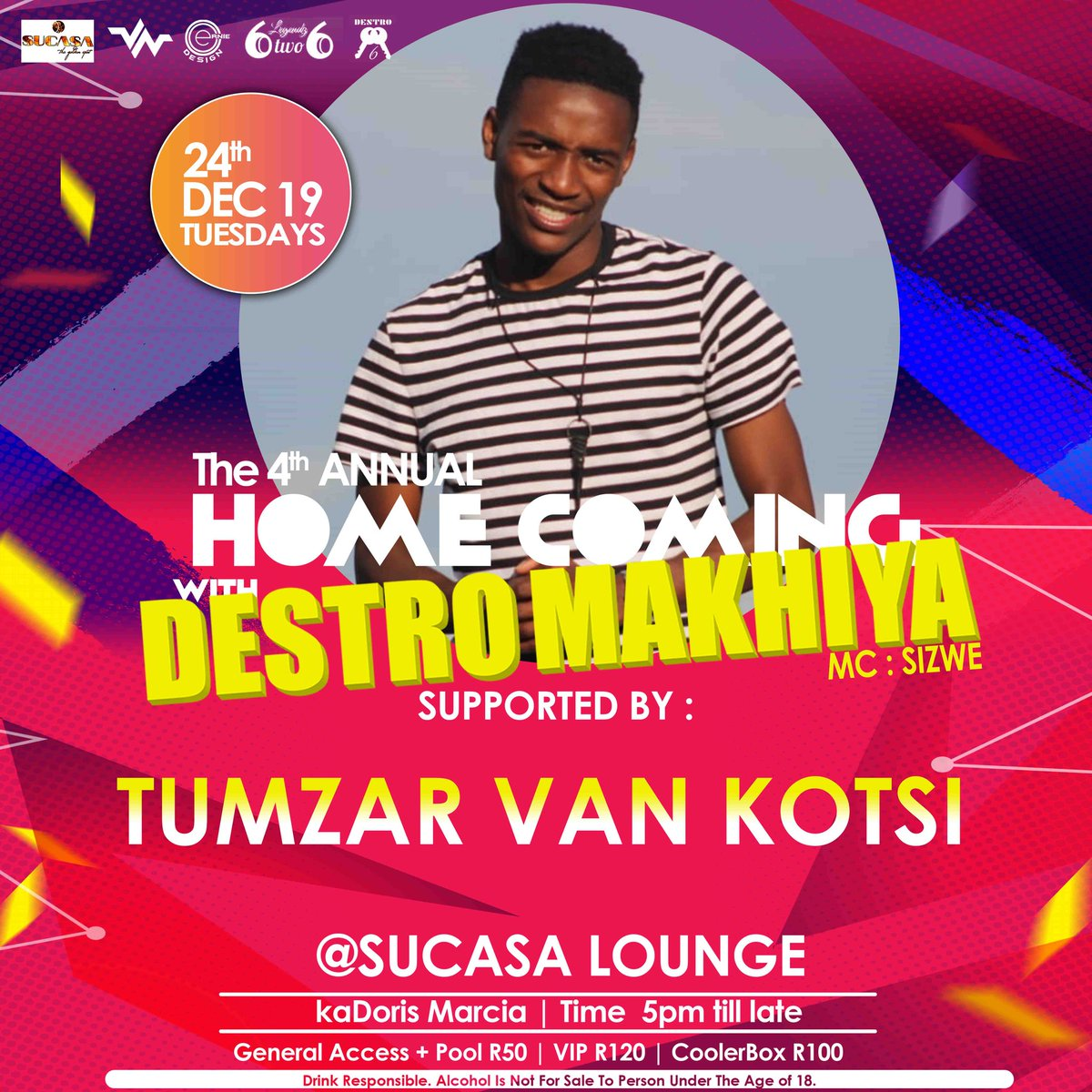 4th  Annual #HCWDM19 4/16 LINE UP 💯🔥 24 DECEMBER 19 SUCASA THE  GOLDEN SPOT #6IKISI♔ https://t.co/z3vp2uk8pS
