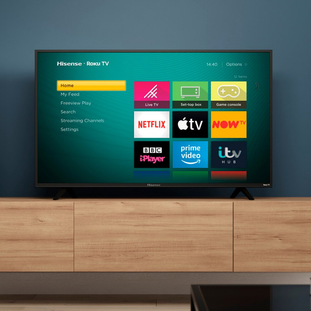 Looking for a new TV for Christmas? 👀  You can get 3 HD movies from @RakutenTV when you buy the Hisense B7120 @Roku TV before January 19th 😍  Get yours today 👉 http://bit.ly/Hi-B7120