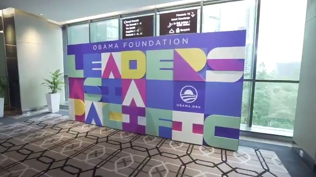 #ObamaLeaders convened 200 inspiring changemakers from across the Asia Pacific. Take a look at their week in Kuala Lumpur with @BarackObama, @MichelleObama and more: