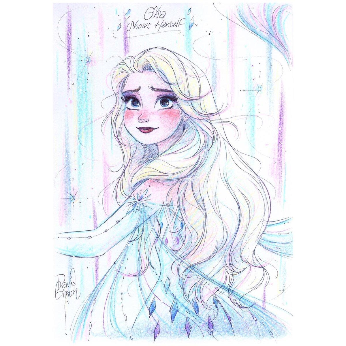 David Gilson On Twitter Dessin D Elsa Au Stylo Bille Et Crayons De Couleurs Vs Pouvez Retrouver Un Autre Dessin De Lareinedesneiges2 Sous Mon Trait D Autres Fanarts Disney Ds Mon Artbook