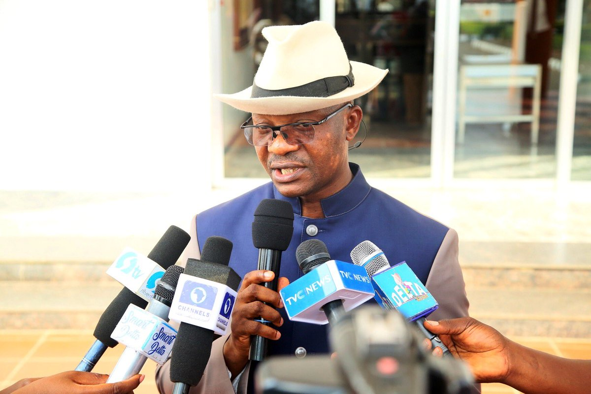 """Delta State Government on Twitter: """"The Commissioner for Information, Mr. Charles Aniagwu, announced this while briefing newsmen after the State Executive Council meeting in Asaba."""""""