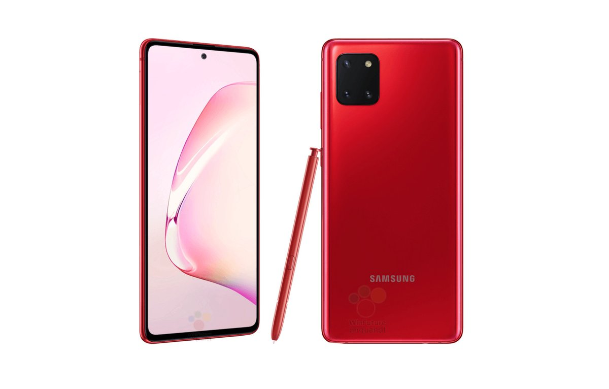 These leaked Galaxy Note 10 Lite pics suggest Samsung is embracing the camera rectangle