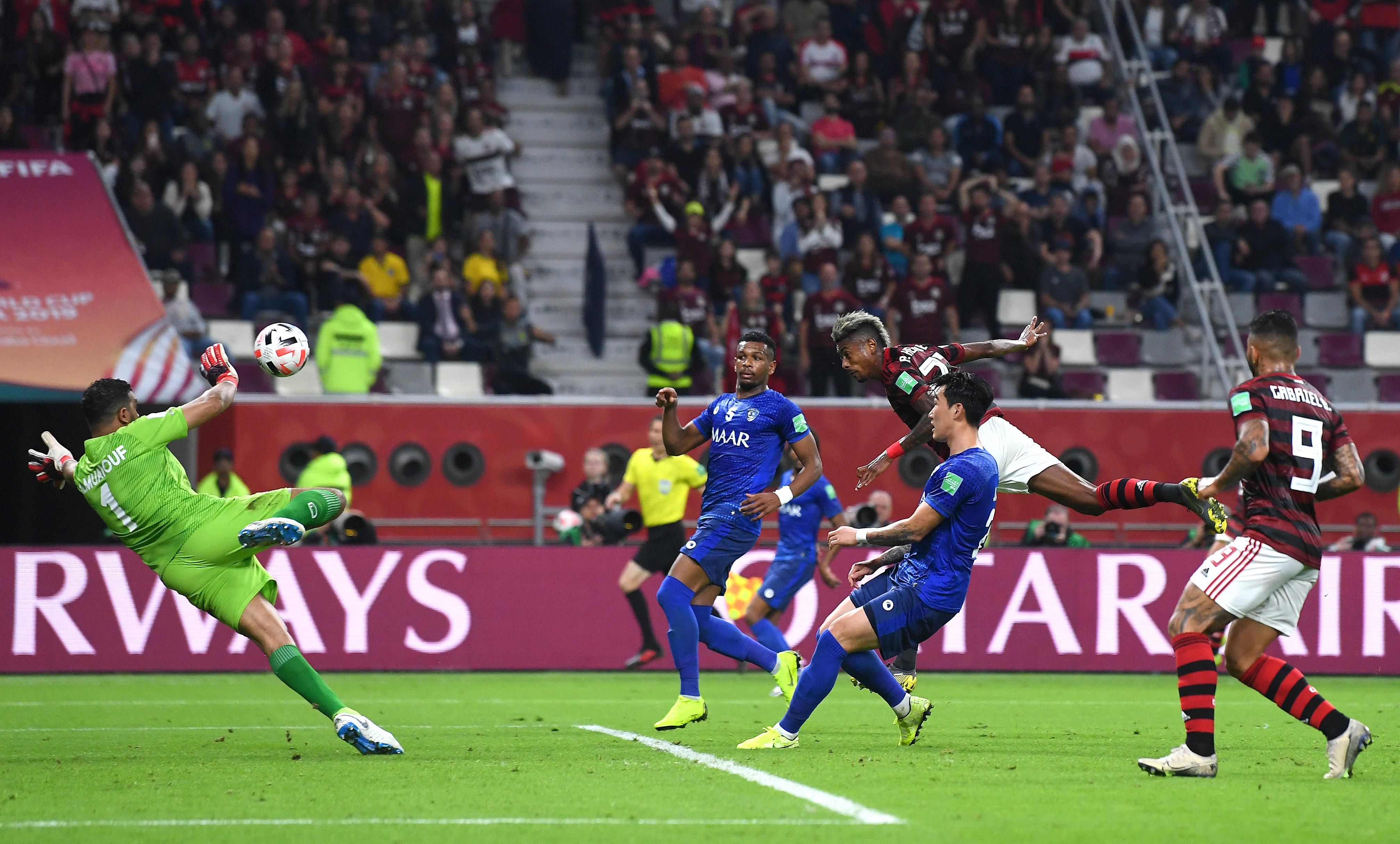 فلامينجو يحقق الفوز على الهلال السعودي ويتأهل إلى نهائي كأس العالم للأندية