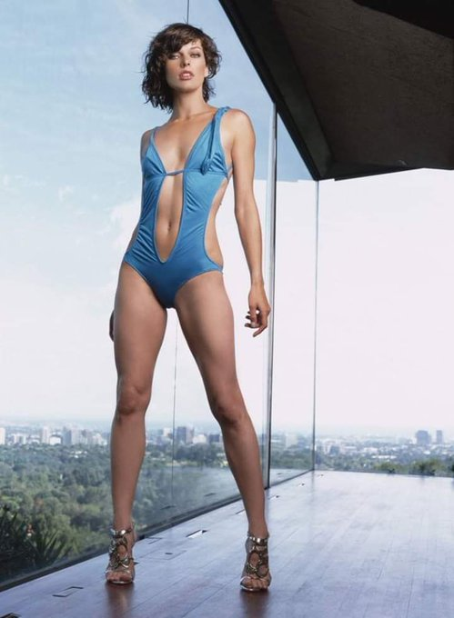 Happy birthday Milla Jovovich.