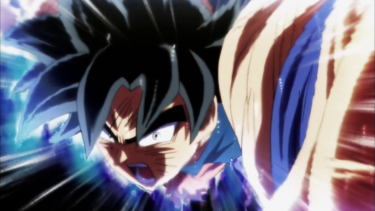 This is Ultra Instinct Omen/sign.             This is Ultra Instinct.Not MUI,not UI Kansei,not Completed UI.