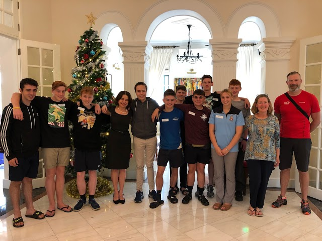 Our World Challenge adventurers have arrived back in Sydney! We look forward to hearing more about their trip but know a highlight was having lunch in Hanoi with the Australian Ambassador, Ms Robyn Mudie & her son, Ambrose. Welcome back.