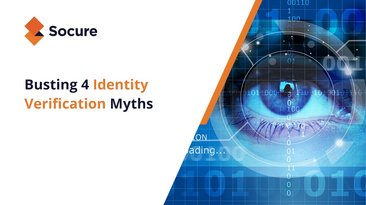 Anyone can fake a name and birthday. Learn more about how our dynamic identity verification process commits to #zerofraud and saving you money: https://hubs.ly/H0mf2Mh0 #Socure #IdentityVerificationpic.twitter.com/cMXxkXVkcA